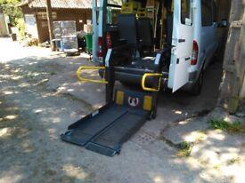 Ricon SWL 350 wheelchair/passenger tail lift.