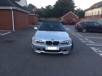 BMW 3 SERIES CONVERTIBLE 2.2 PETROL SILVER 320CI MANUAL SPORTS 2001