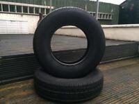 4 BRAND NEW 165/13 heavy duty tyres