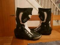 Motorbike boots size 9