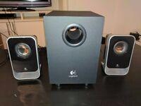 Logitech LS21 Speaker System