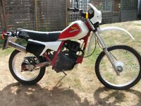 1983 Honda XL125RC. Good condition, runs well