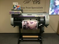 Mimaki CJV30-60 Print and Cut Solvent Printer, Genuine Ink, 100% Nozzle Check Test NOT Roland Mutoh