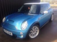 2003 MINI Hatch 1.6 Cooper S 3dr Very Clean Car, Great Spec, 12 Months MOT, 1 Month Warranty May PX