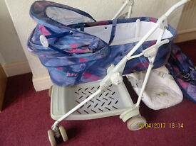 MACLAREN DREAMER PRAM / CARRY COT / PUSHCHAIR COMPLETE SET