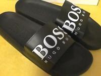 Hugo Boss Sliders Slides Brand New Boxed All Sizes Summer £30