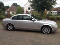 JAGUAR S-TYPE 2.7 V6 SPORT AUTOMATIC DIESEL YEARS MOT FULL SERVICE HISTORY SAT NAV LEATHER