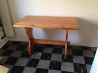 Solid Pine Kitchen / Dining Table