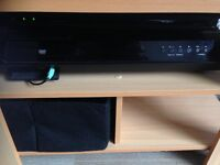 LG Surround Sound system with extra speakers