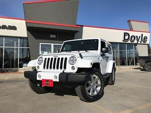 2016 Jeep Wrangler SAHARA 4WD 1-OWNER TRADE-IN!!