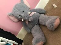Giant Elephant Teddy