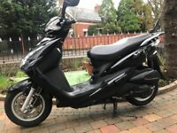 2008 SYM SYMPLY 125 SPOTLESS CONDITION MUST BE SEEN LOW MILES 2050 £850