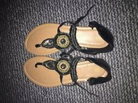 Womens brand new black sandals