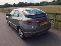 2006 Honda Civic 1,8 litre 5dr 2 owners