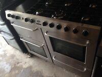 Belling Range gas cooker 100cm. ..Mint free delivery