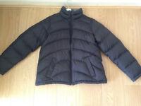 Lands End black padded ladies jacket size (L) RRP £115.00 plus Lands End T-shirt & polo neck