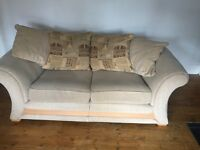 Free three and two seater sofa