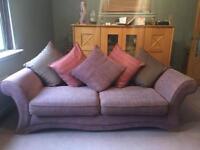 Cushion Backed Sofa (Large 3 Seater)