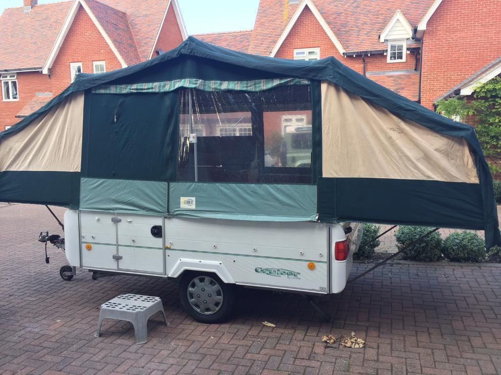 Conway Cruiser 6 Birth Folding Camper With Awning