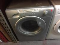CANDY 8/5KG SILVER WASHER DRYER