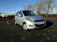2012 HYUNDAI I10 1.2 PETROL - NEW MOT - HIGH SPEC
