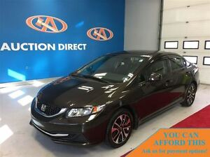 2013 Honda Civic EX (A5), SUNROOF, BLUETOOTH, HEATED SEATS, FINA