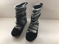 shoes of soul, Black Yarn Boot