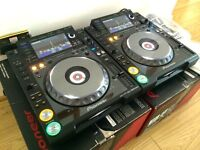 Wanted Pioneer CD Decks DJ Equipment Pioneer CDJ 2000 Nexus DJM 900 NXS2
