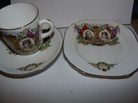 George V and Queen Mary Silver Jubilee 1910 - 1935 Commemorative China