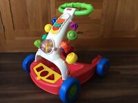 Fisher Price Walker. The activity section can be placed flat at the back. No shapes. Collect Totton