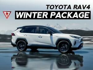 Toyota RAV4 WINTER TIRE + WHEEL Package 2012 - 2020 - T1 Motorsports Ontario Preview