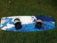 Dakine best carbon fibre 133 kite board-perfect
