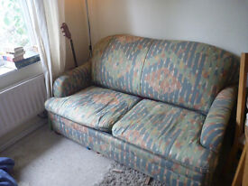 2 seater sofabed, small