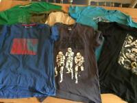 7 x T-Shirts (Age 12-13)