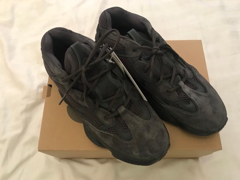 6c451f93c18b6 Adidas Yeezy 500 Utility Black UK10