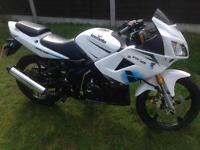 Lexmoto xtrs 125cc learner legal