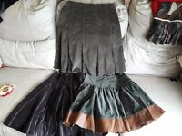 3 women's skirts size 8/10