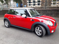 2008(58)MINI ONE 1.4 BRIGHT RED,ALLOYS,AIRCON,LOW MILES,CLEAN CAR,GREAT VALUE