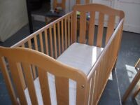MAMAS & PAPAS COT/ FIRST BED