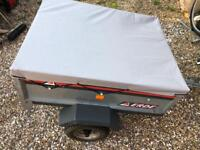 Erde car trailer tipper ideal for camping ⛺️