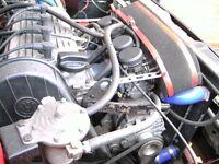 Golf mk2 Gti abf 2.0 16v motor bike carbs all set up still on Engine ready to go