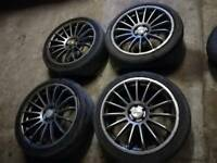 18 inch 5x100 alloys mk 4 golf /bora /beetle