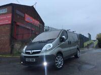 Vauxhall Vivaro SPORTIVE in GOLD immaculate van low miles long mot drives like NEW
