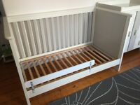 Cot and Changing Table set