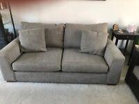 Next Sonoma 3 Seater (medium) Sofa In Mid French Grey.