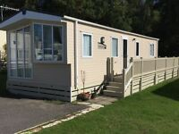 Stylish 2015 2 Bed Static Caravan near New Forest / Bournemouth. ****Reduced Price****