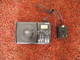 tascam cd bt mk2portable bass trainer