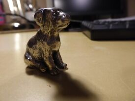 lovely collectible Silver Dog, weighty