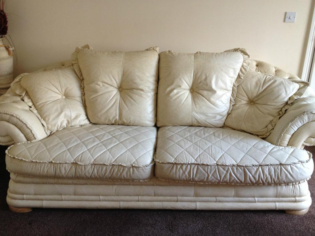 Leather 3 Piece Suite In Shiremoor Tyne And Wear Gumtree