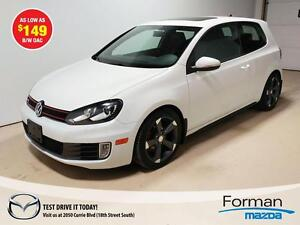 2012 Volkswagen Golf GTI 3-Door - As low as $149 b/w OAC!